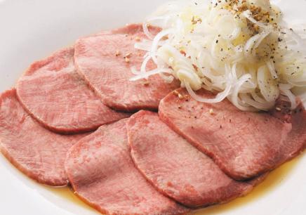 焼き肉コース タン